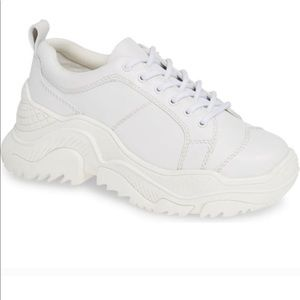 Jeffrey Campbell White Remnant Sneaker